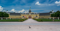 Karlsruhe Palace timed right (Brian Out and About) Tags: nikon d5200 ©brianblair2018 europe germany karlsruhe palace museums architecture ngc