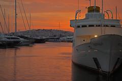 Νεράιδα (Flisvos Marina, Athens, Greece) (AndreaPucci) Tags: flisvos marina athens greece sunset andreapucci paleo faliro yacht