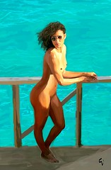 2018-07-15_04-28-39 (alternauta) Tags: nude blackwoman blackbeauty beauty portraitpaintingdigitalart painting digitalart alternauta