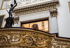 Detail of the Grand Staircase (The British Monarchy) Tags: fashioningareign buckinghampalacesummeropening visitorroute visitors grandstaircase fashioningareignbuckinghampalacesummeropeningvisitorroutevisitorsgrandstaircase