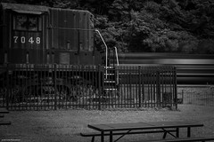 Helper Blur (Jason Lowe Photography) Tags: train trains tracks transportation railroad railfan railway railfanning ns norfolksouthern pennsylvania horseshoe curve mountain mainline altoona pittsburghline helper sd40e pr park tourism tourist