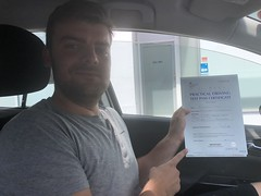 Massive congratulations to Cristian Mitu passing his driving test with only 3 faults!  www.leosdrivingschool.com