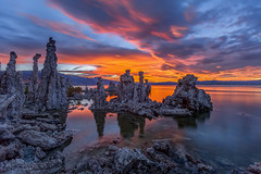 Over an Hour After Sunset... (Jeffrey Sullivan) Tags: sunset mono lake easternsierra sierranevada leevining california united states usa landscape nature astrophotography travel night photography workshop canon eos 6d photo copyright 2018 jeff sullivan july southtufa state reserve clouds weather colorful