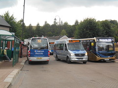 Stagecoach in South Wales 44005 and 44001 (Welsh Bus 18) Tags: stagecoach southwales mercedesbenz sprinter city 45 44005 bp16uwt 44001 tonypandy southeast ashford littleoften