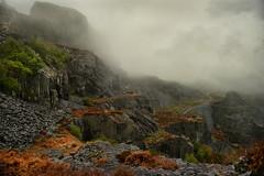 Dinorwic (PentlandPirate of the North) Tags: dinorwic slate quarry dinorwig gwynedd fog cloud mist snowdonia northwales