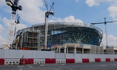 New Spurs stadium under construction, Tottenham, North London, July 2018 (sbally1) Tags: whitehartlane spurs tottenham tottenhamhotspur theft football london northlondon stadium construction eps premierleague harrykane