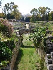 Roman Anphiteatre (SixthIllusion) Tags: roman anphiteatre anfiteatro architecture archaeology histori ancient rome sicilia parco archeologico neapolis sicily siracusa italy travel travelling gladiator