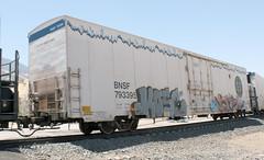 BNSF 793395 (chrisibbotson) Tags: railroad railfan usa chrisibbotson bnsf bnsfrailway reefer calienteca