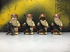 Updates (Yappen All Day Long) Tags: brickarms vest tiny tactical bustom lego marines army soldiers minifig cat eclipsegrafx dessert soldier ucs arc sbr