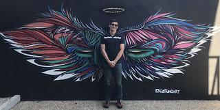 Anjo da Vila, Vila Madalena, São Paulo, Brazil.