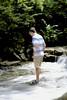 Indian Run Falls (oxfordblues84) Tags: ohio dublin dublinohio park indianrunfallspark indianrunfalls waterfall water stream boy teenager tree leaves leaf flowingwater trees cityofdublinohio cityofdublin