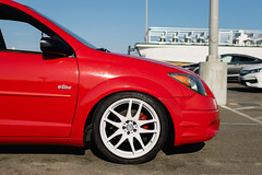 DSC_0712 (jaytotheveezy) Tags: pontiac vibe base lava red 1zz work crkai kiwami ultimate bcracing coilovers toyo tires genvibe