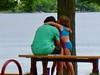 we love you, daddy :) (muffett68 ☺ heidi ☺) Tags: fathersday candid people hugs lake hss odc three