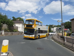 Diversion! 18305, Westhill Road, Torquay, 21/06/18 (aecregent) Tags: westhillroad torquay 210618 stagecoachsouthwest trident alx400 opentopper