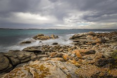 Vivonne Bay-2 (mamacollins231283) Tags: vivonne bay kangaroo island beach rocks lichen