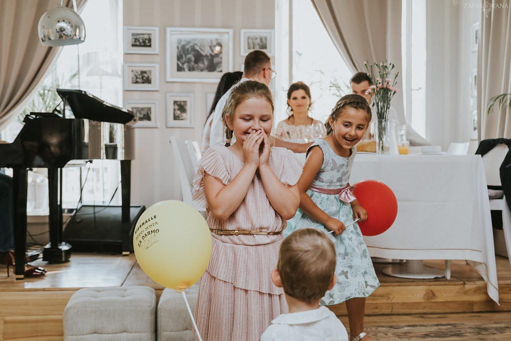 370 - ZAPAROWANA - Kameralny ślub z weselem w Bistro Warszawa