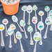 Spoon plant markers