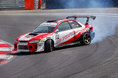 Drifter (Geoff Henson) Tags: car racing drifting smoke tyres spin circuit road track smell noise