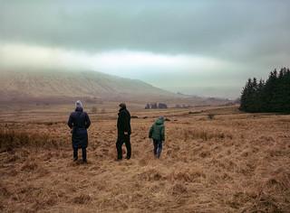 A secret location, Scotland.