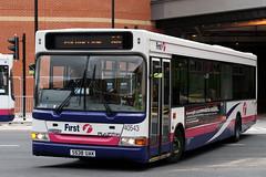 40543 S538 UAK (Cumberland Patriot) Tags: first south yorkshire mainline buses dennis dart slf plaxton pointer ii two spd super low floor 538 40543 s538uak