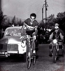 1958 GIRO The King of the Mountains (Sallanches 1964) Tags: federicobahamontes kingofthemountains giroditalia tourdefrancewinners spanishcyclists mountainstage roadcycling