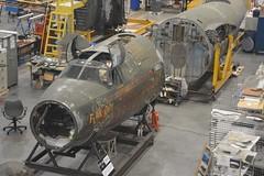 NASM_0124 restoration - Martin B-26 Flak Bait (kurtsj00) Tags: nationalairandspacemuseum nasm smithsonian udvarhazy mary baker engen restoration hangar martin b26 flak bait