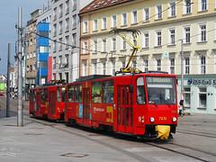 DPB 7931+7932 (jvr440) Tags: tram trolley streetcar tatra bratislava t6a5