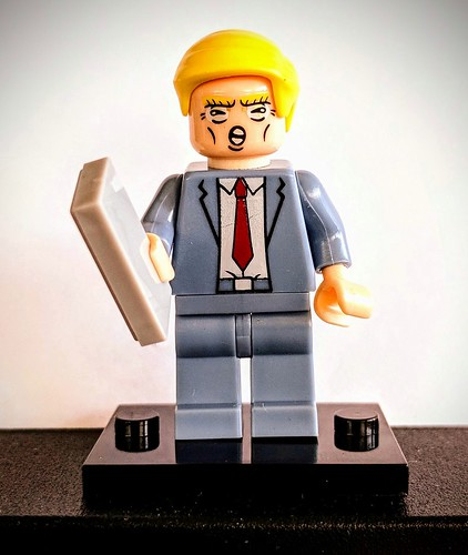 Angry Little Lego Trump