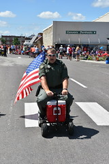 139th Annual 4th of July Parade (Adventurer Dustin Holmes) Tags: 2018 marshfieldmo marshfieldmissouri marshfield missouri event events parade parades outdoor outdoors ozarks july4th 4thofjuly independenceday 139th annual celebration webstercounty midwest flag americanflag cooler motorized vehicle deputy deputysheriff man male men person greenuniform uniformed uniform officer police lawenforcement sunglasses conniesportraits