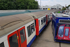 A Stock not gone yet (aecsouthall) Tags: londonunderground astock metropolitanline railadhesiontrain rat cravens