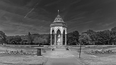 Burdett-Coutts Fountain (I M Roberts) Tags: burdettcouttsfountain victoriapark gothic moorishtouches towerhamlets eastlondon fujix100s bw