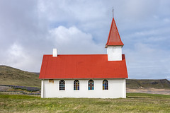 Icelandic church (kaifr) Tags: iceland traditional white church red westfjordsregion is