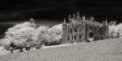 Balintore Castle (Shot Yield Photography) Tags: scotland uk greatbritain british scottish balintorecastle castle house mansion manor history historic ruins exploration derelict dereliction decay abandoned premises building architecture remains creepy scary spooky eerie place haunted dark mystic mysterious atmosphere picture shot yield black white bw monochrome ir infra red infrared photography shotyieldphotography