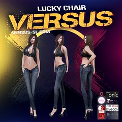 Lucky Chair Women's Jeans (Carl Wardark Art Photo) Tags: lucky chair womens jeans