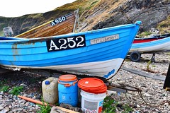 Cove Bay - Aberdeen Scotland - 13th July 2018 (DanoAberdeen) Tags: a252albatross albatross a252 cove aberdeenharbour danoaberdeen aberdeenshire aberdeen scotland bay harbour covebay hiddenscotland fishing fishermen trawlers lobster creels shellfish candid amateur 2018 scottishhighlands altens tullos shingle beach playa plage northsea fishmeal historicscotland heritage history geotagged causeymounth scottish foreshore vintage scenery landscape tranquil peaceful walks bonnyscotland bonnie scotch blue sky travel tourists whitefish hotel thecove hills granite grampian nikond750 autumn summer winter spring countryside gold scottishwater wilderness outdoors freshair olddays oldtimer