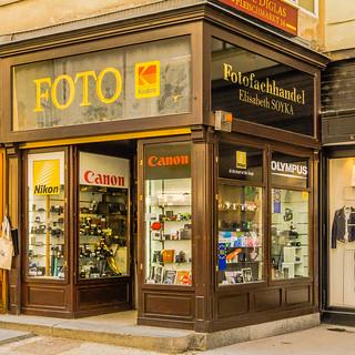 Photo shop in Vienna, Innere Stadt