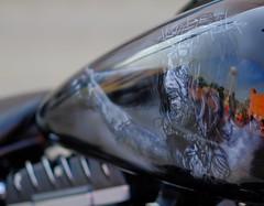Downtown Jesus (Tim @ Photovisions) Tags: motorcycle tank gastank painting nebraska bike