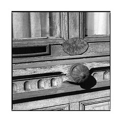 on the old road • arnay, burgundy • 2017 (lem's) Tags: door handle knob porte clenche nationale 6 n6 arnay le duc burgundy bourgogne zenza bronica