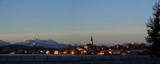 Morgensonne Traunwalchen