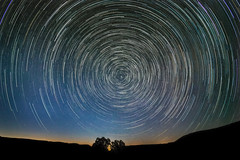 As the Earth turns.... (alicecahill) Tags: composite california usa landscape ©alicecahill sanluisobispocounty shellcreekrd startrails sky northstar night