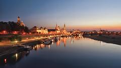 River Elbe @ Night (Holger Neuert) Tags: dresden sachsen deutschland de
