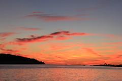IMG_9750 (ultomatt) Tags: sun spectacular sky sunset gooseberry point puget sea lummi portage portagebay portageisland ocean