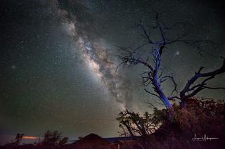 Milky Way @ Mauna Kea Vistior Center