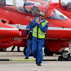 0228 (photozone72) Tags: norwichairport norwich raf rafat redarrows reds redwhiteblue aviation aircraft canon canon7dmk2 canon100400f4556lii 7dmk2 circusatwork blues groundshots groundcrew