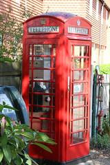 K6 kiosk at Mersea Museum (kitmasterbloke) Tags: westmersea essex uk merseaisland museum k6 telephone kiosk