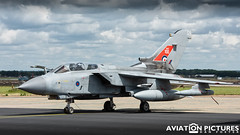 Panavia Tornado GR4 ZG752 '129' (Aviation-Pictures.co.uk) Tags: panavia tornado jet bomber air force aviation pictures military dan foster raf 100 raf100 sticker stickers special tail scheme anniversary aircraft
