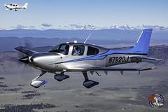 Fox Butte - Deschutes County, OR  USA (Baron von Speed) Tags: airtoair bend c2a cirrus formationclinic kbdn oregon ©baronvonspeed2018 3i9a0616edit sr22t sr22 n7920j n118gs