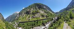 Oberalp. Reuss River and Schollenen Gorge (k.atkos) Tags: göschenen uri switzerland ch