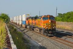 BNSF Haslet, TX (jtrainb) Tags: alliance bnsf fortworthsub haslet railroads texas zrobalt729 intermodal