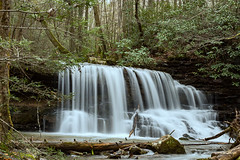 Laurel Run in Spring (Back Road Photography (Kevin W. Jerrell)) Tags: waterfalls slowshutter nikond7200 streams mountainstreams backroadphotography smokywater laurelrunpark hawkinscounty churchhill tennessee